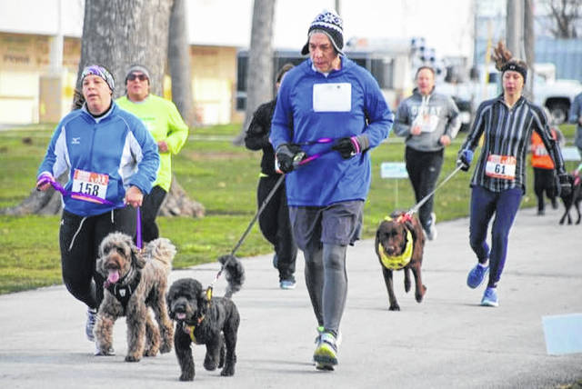 Registration is open for the 7th annual Scentral Park Dog Park 5K Walk/Run ton Saturday, May 1, 2021, beginning at 9 a.m. at the Darke County Fairgrounds. Questions? Visit the Friends of the Shelter on Facebook, email Kelly Sanning at drskas@embarqmail.com, or register at www.gtraces.com