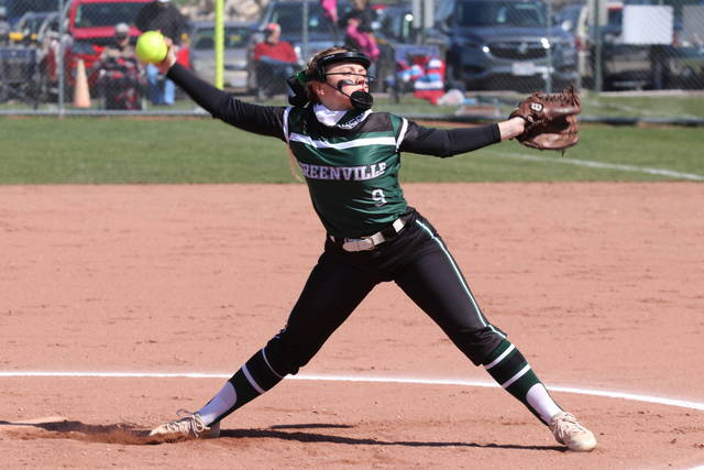Grace Shaffer pitches seven strong innings against OHSAA DI powerhouse Beavercreek.