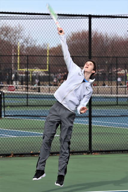 Greenville first singles, Jack Marchal.