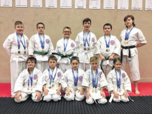Matsunoki Martial Arts students medal at AAU competition