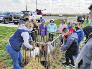 Arcanum MVCTC FFA brings farm to school lawn
