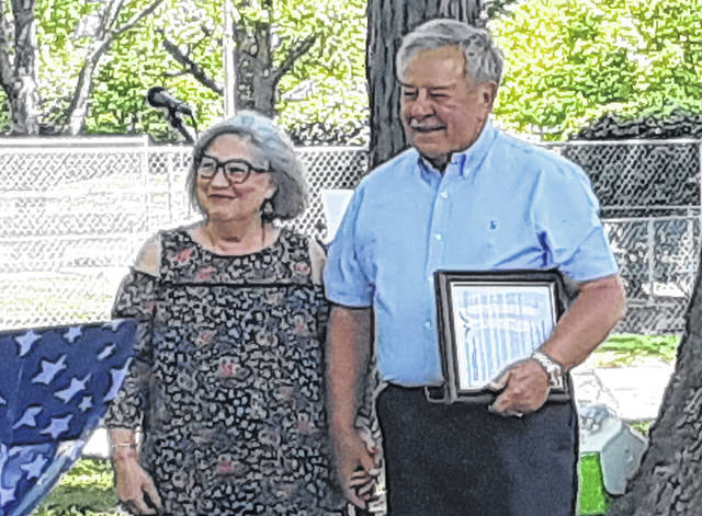 """Sharon and Wayne Deschambeau were named 2021 """"Citizens of the Year"""" Friday by the Darke County Chamber of Commerce."""