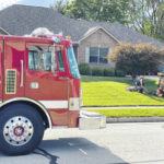 Fire displaces Arcanum woman