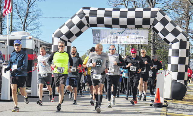 The 7th annual Scentral Park 5K was held May 1 at the Darke County Fairgrounds. All proceeds from the race will be used to maintain and improve Scentral Park, Darke County's only dog park located next to the Animal Shelter on County Home Road in Greenville.