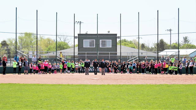 Greenville Girls Softball Association (GGSA) holds its 49th Opening Day ceremonies at Stebbins Field, Home of Lady Wave Softball.