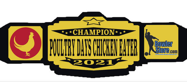 """How fast can you eat a Poultry Days Chicken Dinner? Competitive eaters are invited to take part in the """"Chicken Eating Contest"""" taking place June 13."""