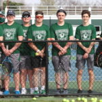 Wave boys tennis blanks Stebbins