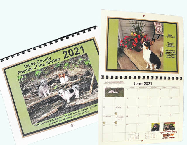Darke County Friends of the Shelter seek pet photo submissions for its 2022 Calendar. All submissions are due by Friday, July 9.