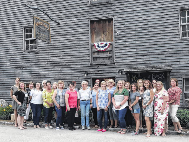 The Greenville Business and Professional Women (BPW) recently met to celebrate the start of summer at the historic Bear's Mill, located at 6450 Arcanum-Bears Mill Rd., in Greenville.