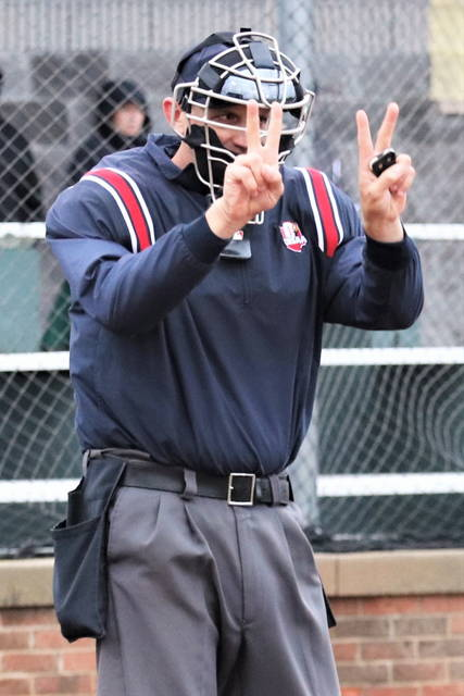 Vandalia's Chris Prokes named Crew Chief for the 2021 OHSAA D-I state championship baseball game and will be calling balls and strikes behind the plate.