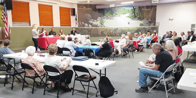 """The Darke County Republican Women's Club hosted a panel discussion of HB 248, also known as the """"Vaccine Choice and Anti-Discrimination Act,"""" which allows for three exemptions (conscientious, religious, or medical) to all vaccines, permitting individuals to bring a civil action if a violation occurs. Specifically, HB 248 aims to protect individuals who choose not to be vaccinated from discrimination (due to vaccine status.)"""