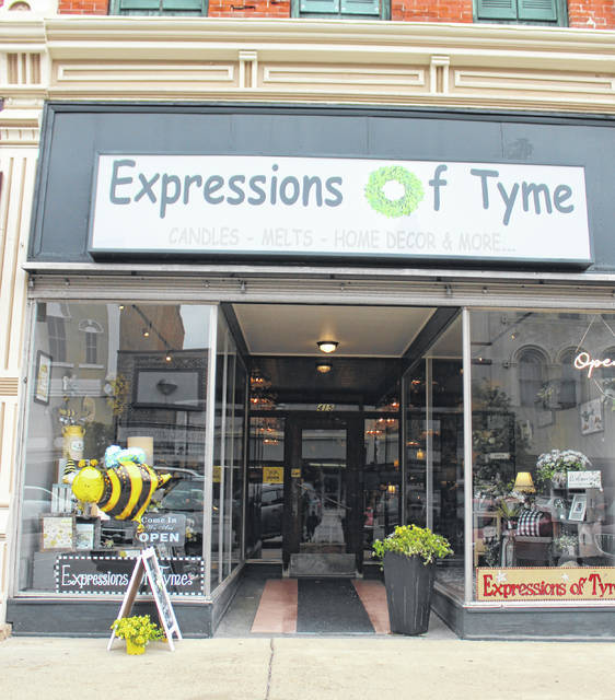 What's the Buzz? Expressions of Thyme's grand opening happened this past weekened in downtown Greenville.