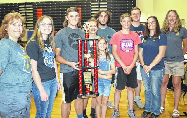 Host MVHS reclaimed the 2021 Grudge Match Blood Drive trophy with a victory over FFA rival Ansonia High.