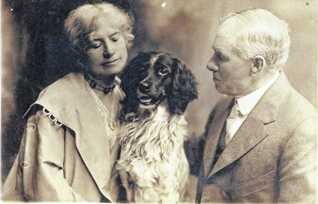 """Annie Oakley and Frank Butler. """"Annie's Memorial Shoot"""" will be held on Friday, July 23, in conjunction with this year's Annie Oakley Festival."""