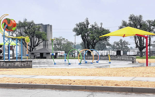 The South Park splash pad is nearly ready for use, Greenville Safety/Service Director Ryan Delk told Greenville City Council Tuesday. Council also approved an increase in water and sewer rates for city residents after months of discussion.