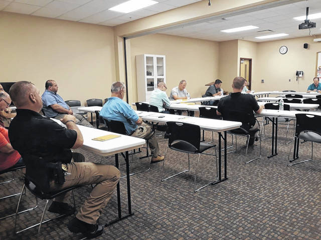 """The Versailles Alumni Association members were in attendance at Wednesday evening's Versailles Village Council meeting to discuss plans for a new community event, """"Versailles Music Fest,"""" scheduled for Saturday, Sept. 11., from noon until 11 p.m., at Heritage Park."""