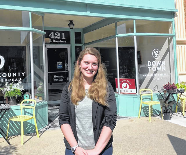 Amber Barga, of Versailles, will join the office as an intern throughout the summer.