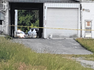 Police find unidentified body