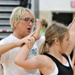 Greenville volleyball completes 3 day camp