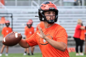 Arcanum football shows well scrimmage