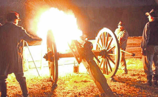 Great memories and family fun await at the Dark County Park's Living History Encampment happening Friday, July 23, as part of The Gathering at Garst weekend (July 24-25). Cannons will fire (weather permitting) around 9 p.m. and again, at again, on Saturday morning, in celebration of the annual event's 10th anniversary.