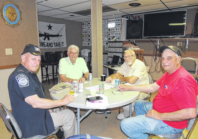 Shown is the Centennial Committee for the Versailles American Legion.