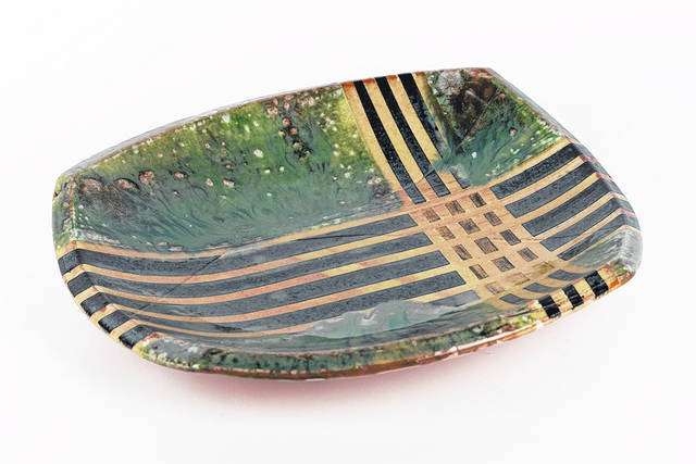 """Earthenware pottery and wood panels of Richmond, Indiana-based artist Thomas Hill will be on display at the upcoming """"Art At the Mill"""" August exhibit opening Friday, July 30 through Aug. 22, 2021. Come meet the artist July 30, from 6 to 8 p.m., at Bear's Mill, located at 6450 Arcanum-Bear's Mill Road, Greenville."""