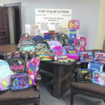 Stuff a Bus with school supplies for kids