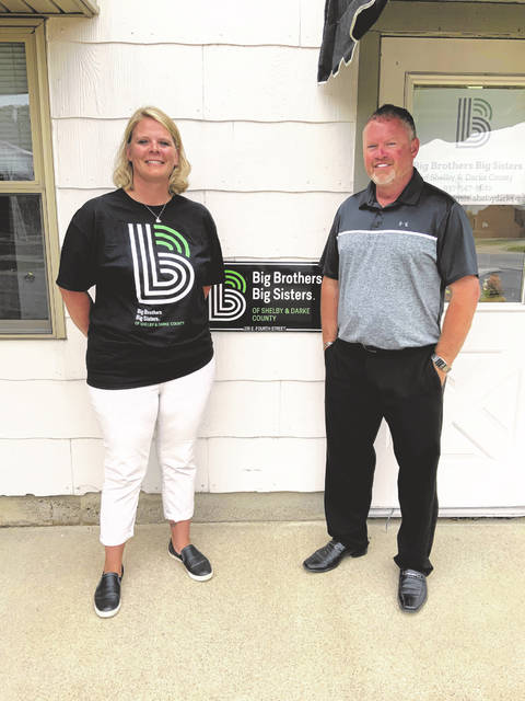 Shelby & Darke County Big Brothers Big Sisters receive a helpful donation from Berkshire Hathaway Home Services Professional Realty.