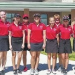 Girls golf team is young