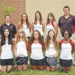 Wayne tennis team is young