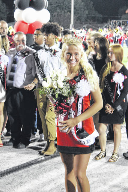 <strong>Wayne Homecoming Queen Sabryna Creech.</strong>
