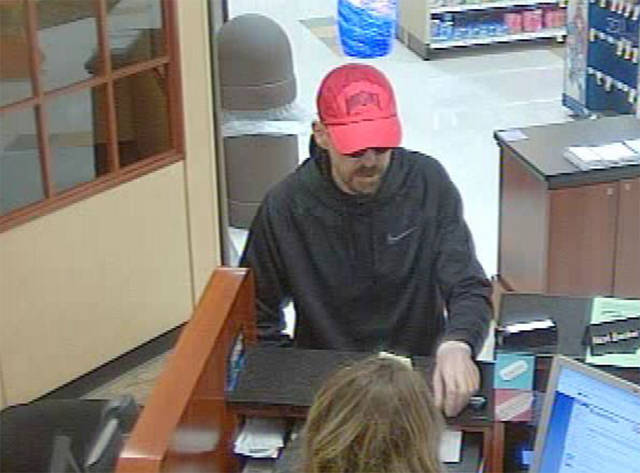 Huber Heights Police are seeking the identity of two suspects who robbed the U.S. Bank inside the Kroger store on Brandt Pike.