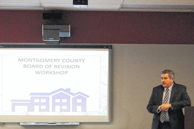 Montgomery County Auditor Karl Keith held a Board of Revision workshop at Fire Station 22 in Huber Heights on March 22. The deadline to file a property value appeal is April 2.