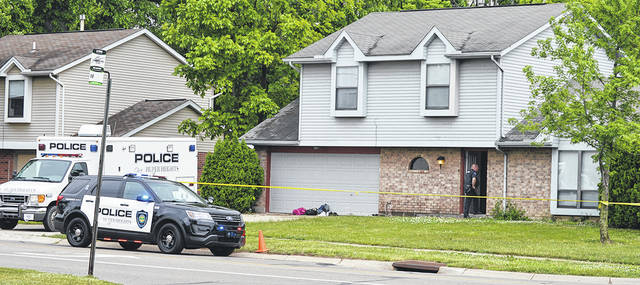 Huber Heights and Springfield Police are investigating a home invasion on Shull Road in Huber Heights that left two juveniles bound with zip ties and the father of one of the juveniles dead in a Springfield Park.