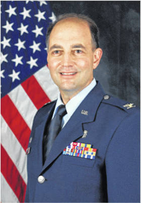 Air Force Colonel David M. Rosso will be the parade Grand Marshal at Huber Heights' Star Spangled Celebration.