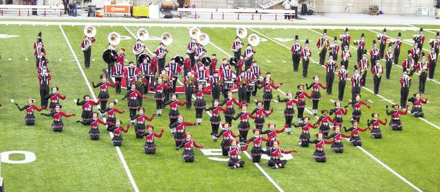 The Wayne High School Marching Band and Warriorettes will perform at the 51st Halftime USA to be held Saturday, September 8 at Wayne High School.