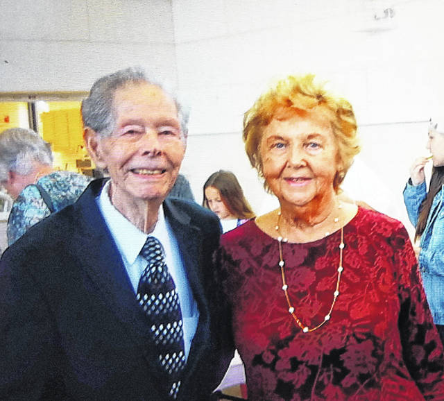 Mr. and Mrs. Carlos and Myrtle Copley are celebrating their 70th wedding anniversary on August 22.
