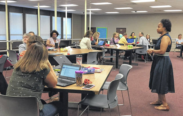 Region 10 State Support Team is working alongside HHCS staff on PBIS Classroom training. Integrating behavioral supports into the classroom creates a learning environment where students are engaged, feel supported and can be ready to learn.