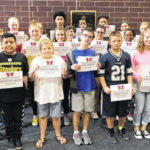 Weisenborn JH Students of the Month
