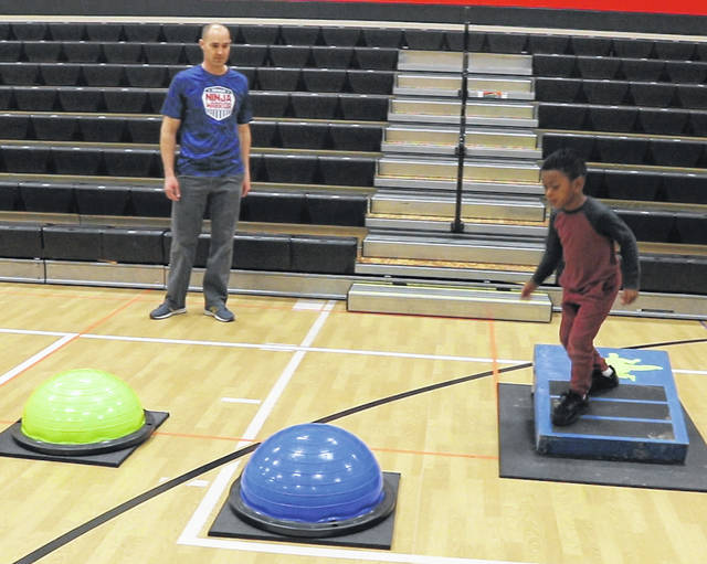 Charles Huber Elementary students got to be ninja warriors for a day. The school had their PBIS Ninja Warrior Reward for students with positive behavior during the first semester.