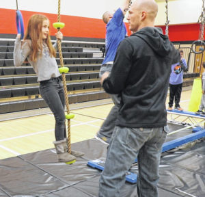 Charles Huber students are ninjas for a day