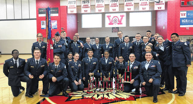 The Wayne High School Air Force Junior ROTC placed second overall while hosting the 6th annual White-Fitzgerald Memorial Drill Competition.