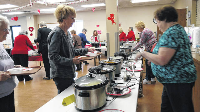The Huber Heights Senior Center held a very enjoyable and successful Soup Lunch fundraiser in February.