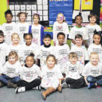 Kindergartners celebrate 100 days of school