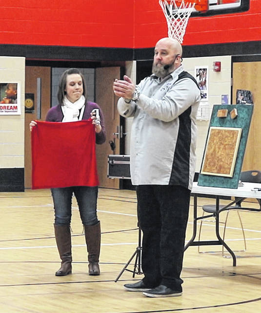 World renowned illusionist, Christian Augustine performed magic for students at Monticello Elementary. His magic tricks incorporated math, science, physics, and interesting history stories.