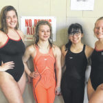 Wayne girls swim team qualifies for district