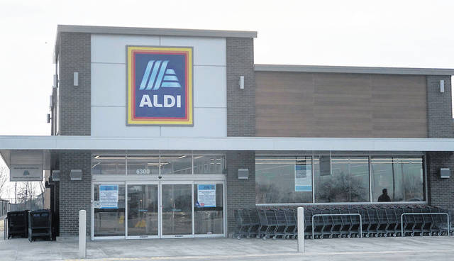 The Aldi's store at 6300 Brandt Pike will re-open to customers on Monday, March 25 following a closure for renovation.