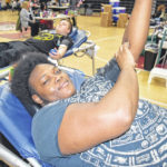 Warrior Way on display at blood drive