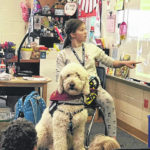 Therapy dog visits Valley Forge
